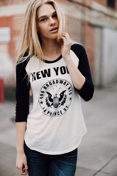 ☪❃↟❂☼~ AbbyBartel01 Brandy ♥ Melville | Carley NY Broadway and Prince Top - Graphics