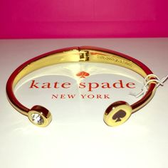 """Kate Spade ♠️ Black """"Spot the Spade"""" Bracelet ✨  SPRING COLLECTION Kate Spade ♠️ Black """"Spot the Spade"""" Bracelet NWTs • smoke free home • bundle for extra discounts • 20% donated to the American Cancer Society • Thanks & Happy Poshing ✨ kate spade Jewelry Bracelets"""