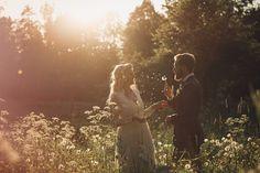Lantligt och bohemromantiskt bröllop: Emma och Niklas — Sisters in Law - Bröllopsblogg