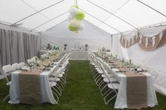 Whimsy & Wise Events: Wisely Planned Baby Shower: How Tweet it is….  Birdie Baby Shower, Burlap baby shower, green and white, bird themed shower