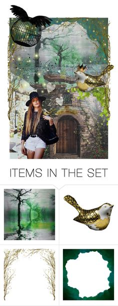 """The Songbird [a modern fairytale]"" by annacullart ❤ liked on Polyvore featuring art, modern, contestentry and positivelyartistic"