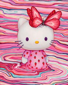 Hello Kitty Melt Whiskers by Camilla D'errico