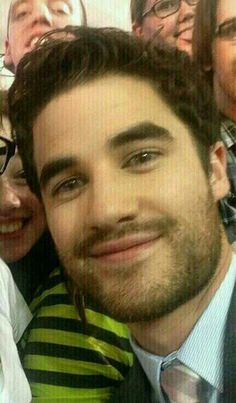 Oh Darren! At FoxFanfronts -glee (5/12/14)