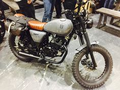 Mutt Motorcycles, 125cc Mutt Mongrel, unexpected star of MCN Motorcycle Show in London (Feb 2017). Vintage, light and affordable.