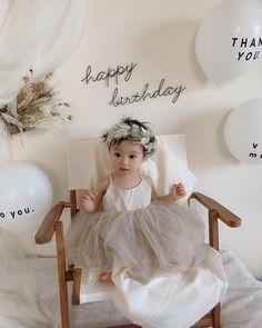 Baby Girl First Birthday, First Birthday Parties, First Birthdays, Birthday Girl Pictures, Birthday Photos, Birthday Decorations, Baby Photos, Party, 1st Birthday Girls