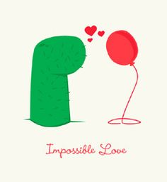 fun t-shirts impossible love