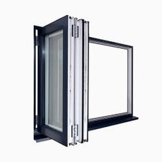 Bi-fold windows are stylish, innovative and a modern window design that is taking the market by storm. See uPVC bi-fold windows prices online. Modern Window Design, Modern Windows, Upvc Windows, Cool Deck, Patio Design, Locker Storage, Outdoor Living, House Plans, Windows