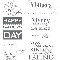 All Holidays Stamp Brush Set - Digital Download - by Stampin' Up!