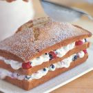 Try the Mixed Berry–Whipped Cream Cake Recipe on Williams-Sonoma.com