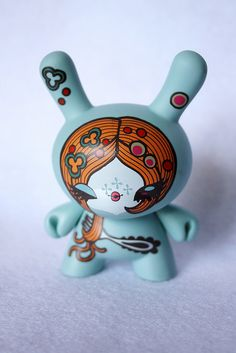 Junko Mizuno Dunny (1/50) by Emily Bee ♥ Follow The White Rabbit, via Flickr