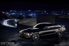 Mustang at Night 2 by jcamere on DeviantArt