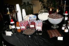 winter wedding reception food | Cranberries, Cocoa, & Kilts, A Winter Wedding - My Insanity