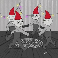 The perfect Christmas Devil Ring Animated GIF for your conversation. Discover and Share the best GIFs on Tenor. Halloween Gif, Creepy Cute, Stickers Online, The Conjuring, Merry Xmas, Tis The Season, Horror Movies, Animated Gif, Pagan