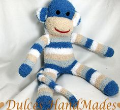One seriously cute sock monkey. $25 from TheMonkeyShop.
