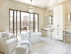 Stylish bathroom interiors design, contemporary hanging light, wall painting, window, sofa, outdoor, wash basin, bathtub and tiles flooring  http://www.urbanhomez.com/construction/wash_basin_and_toilet_seats Find Top Interior Designers for your Home in Mumbai at http://www.urbanhomez.com/suppliers/interior_designer/mumbai http://www.urbanhomez.com/suppliers/architects/bangalore Find Top Architects in Pune for your Home & Office at http://www.urbanhomez.com/suppliers/architects/pune