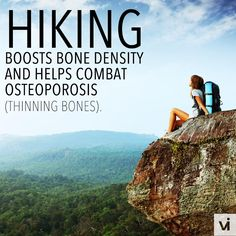 Hiking is a fantastic workout that does more than just burn calories!