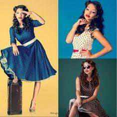 Nabídka šatů od MiaBella je plná puntíkatých šatů. Stačí si jen vybrat oblíbenou barvu.  Která bude ta Vaše? Vybírejte na https://www.miabella.cz/retro-saty-sukne/
