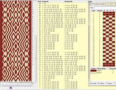 Diagonal . 28 tarjetas, 2 colores, repite dibujo cada 24 movimientos