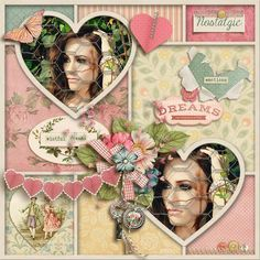 Layout using {Sentimental} Digital Scrapbook Kit by Studio Sherwood available at ScrapbookGraphics http://shop.scrapbookgraphics.com/Sentimental-Bundle.html #digiscrap #digitalscrapbooking #studiosherwood