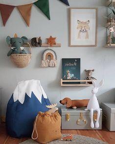 Nursery Room, Boy Room, Kids Bedroom, Ideas Habitaciones, Baby Room Design, Little Girl Rooms, Baby Boy Nurseries, Kid Spaces, Kids Decor