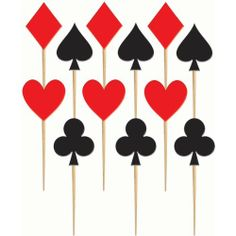 Casino Card Suit Wood Party Picks Package of 48 Amscan http://www.amazon.com/dp/B004XHX4B8/ref=cm_sw_r_pi_dp_6XAKtb0QX2TB2A64