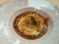 Cremoso de arroz con setas - Brasserie Flo (Barcelona)