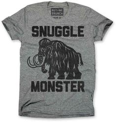 "Buy Me Brunch ""Snuggle Monster"" Tee, $24 