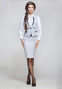 Офисный женский костюм екатерина