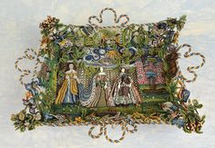 An important 17th century beadwork basket | Flickr - Photo Sharing!