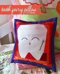 Thread Riding Hood - Kawaii Tooth Fairy Pillow Tutorial
