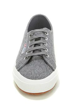 62bbbc4d1 The cozy wool blend on these lace-up sneakers from Superga are the perfect  addition