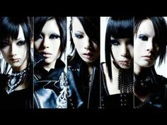 Exist Trace. All women. All Visual Kei.
