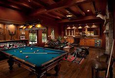 20 Interesting Recreation Room Design Ideas: Rec Room And Man Cave