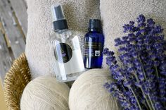 Paired with Organic Lavender Essential Oil and Lavender Linen Water, dryer balls make a thoughtful and useful holiday gift. Lavender Essential Oil Uses, Lavender Oil, Essential Oils, Lavender Crafts, Wool Dryer Balls, Insect Repellent, Natural Oils, Holiday Gifts, Fragrance