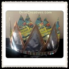 Crown Made From Capri Sun Pouches