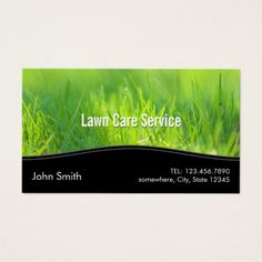 210 best lawn care business cards images on pinterest business lawn care landscaping spring green business card colourmoves