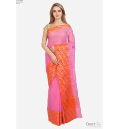 Saree With Blouse Kota Doria Ethnicwear Traditional Ideal For Women Wedding Party Casual Office Wear Silk Sarees Collection Online