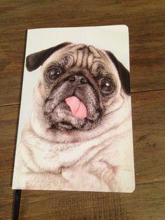 Pug Notebook ~ Jay Jays