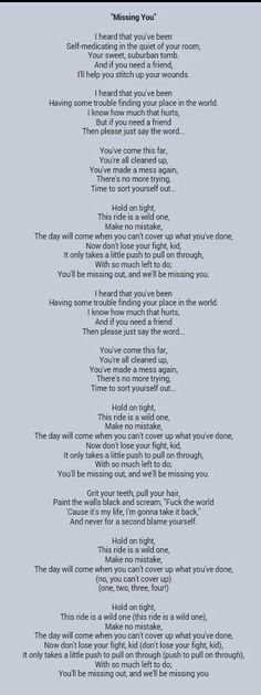 All Time Low- Missing You lyrics// this song is so powerful...freaking love this song