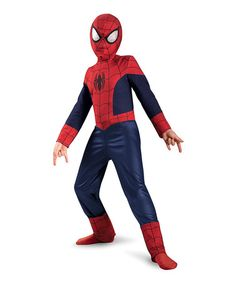 Take a look at this Red & Blue Ultimate Spider-Man Dress-Up Set - Boys by Disguise on #zulily today!