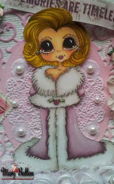 Bestie close-up by Mary Bollen.... see card in her blog post