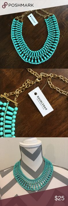 Baublebar Turquoise Necklace Brand new with tag! Baublebar Jewelry Necklaces