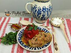 Ardei umpluti cu carne tocata si orez, la cuptor sau pe aragaz, reteta traditionala, clasica, veche, cu o savoare aparte, asa cum numai retetele vechi o au. Romanian Desserts