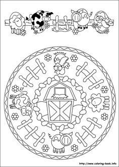 Mandala: la granja