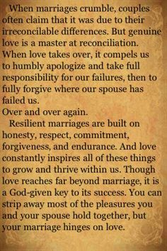 From the Love Dare. This is why betrayal hurts so deeply. Times are going to get hard, but when the other person bails.everything your relationship was built on turns to ashes. Marriage Prayer, Godly Marriage, Marriage Goals, Marriage And Family, Marriage Relationship, Happy Marriage, Relationships, Successful Marriage, Family Life