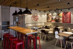 Fast-food restaurant chain KFC is launching a radical new design concept, which it says represents & future of interior design for KFC&