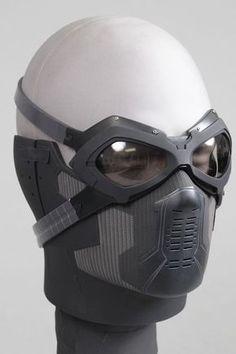 Winter Soldier Mask, Winter Soldier Cosplay, Soldier Costume, Taktischer Helm, Armadura Cosplay, Armor Concept, Body Armor, Tactical Gear, Survival Gear