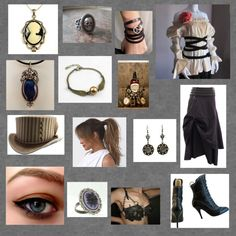 """""""my steampunk outfit"""" by the-used-hard-to-say ❤ liked on Polyvore"""