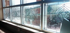The look of stained-glass without the commitment or price!! Comes off easily with a razor! Gallery Glass by Plaid Enterprises