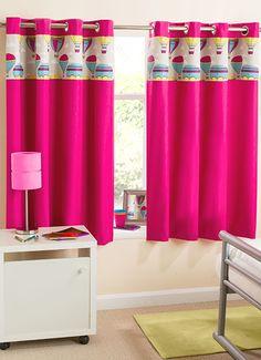 Get The Beautiful Horizon Ready Made Eyelet Blackout Curtains
